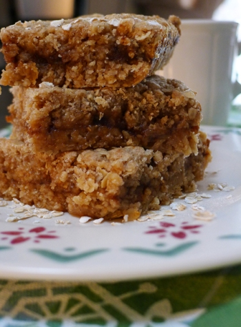 Oatmeal Apple Butter Bars