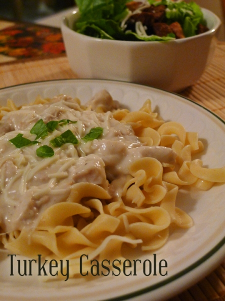 Turkey Casserole #turkey #leftovers #thanksgiving