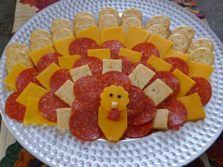 Turkey Cheese Platter #thanksgiving #appetizer