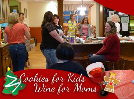 Cookies for Kids, Wine for Moms