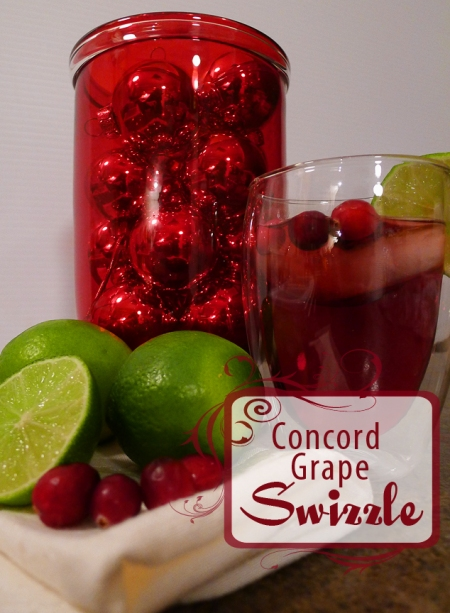 Concord Grape Swizzle