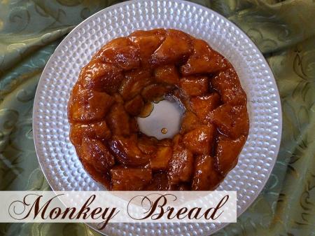 Monkey Bread  cookingwithamanda.com