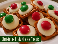 Pretzel M&M Treats