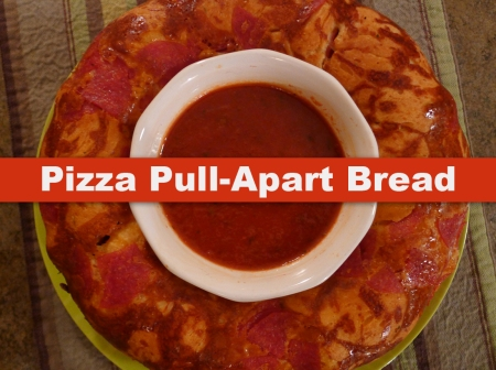 Pizza Pull-Apart Bread