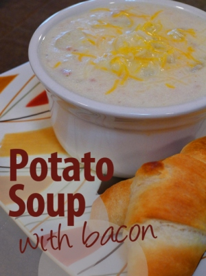 Potato Soup with Bacon