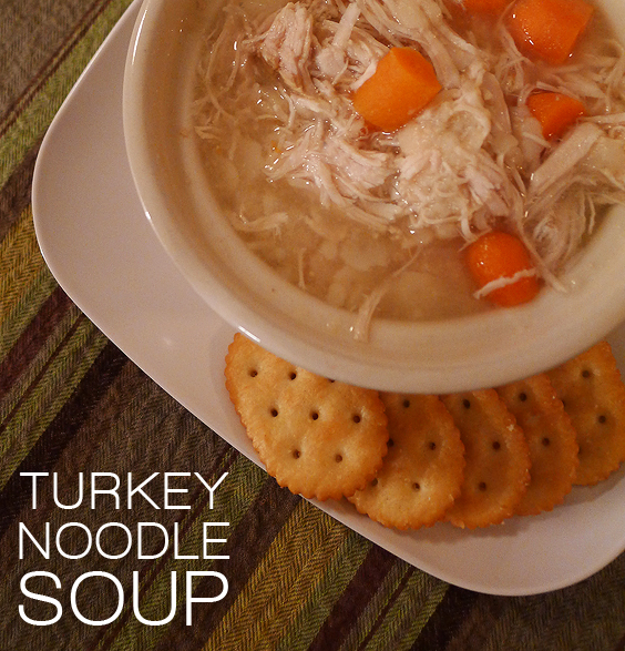 Turkey Noodle Soup « Cooking with Amanda