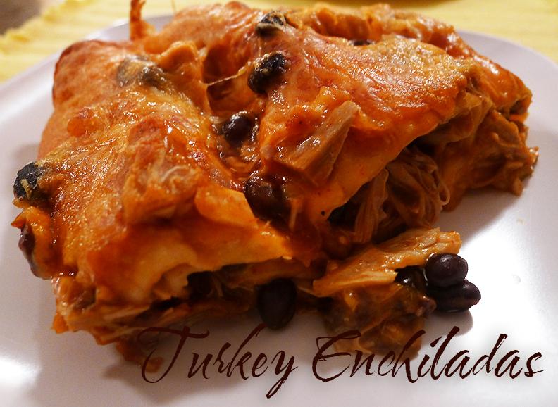Turkey Enchiladas « Cooking with Amanda