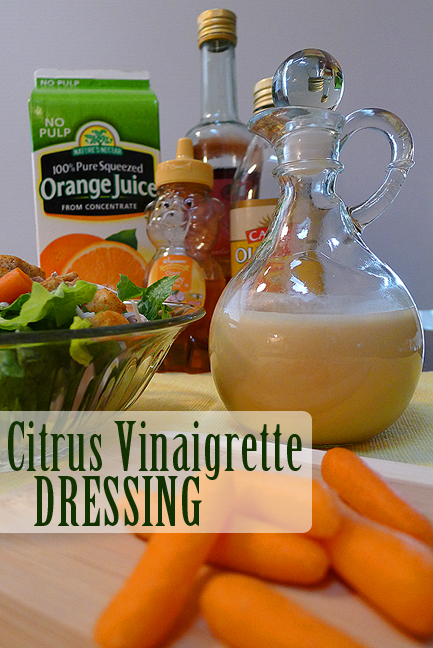 Citrus Vinaigrette Dressing