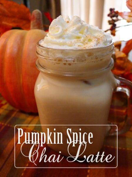 Pumpkin Spice Chai Latte